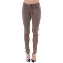 Abbigliamento Donna Jeans slim Dress Code Jean Remixx Beige RX803 Beige