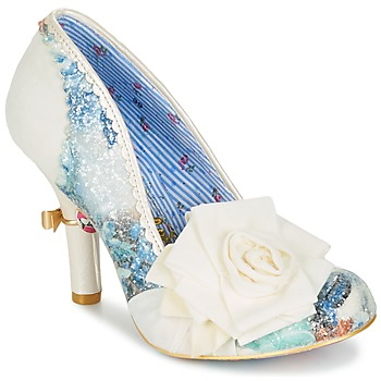 Scarpe Donna Décolleté Irregular Choice WASHINGTON Bianco