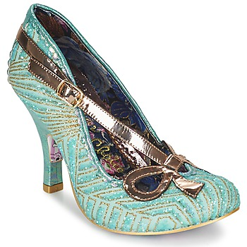 Scarpe Donna Décolleté Irregular Choice BUBBLES Verde / Menta