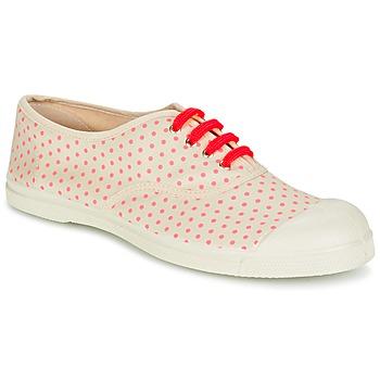 Scarpe Donna Sneakers basse Bensimon TENNIS MINIPOIS Ecru / Rosa