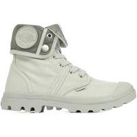Scarpe Donna Sneakers alte Palladium US Baggy Vapor Metal W F Grigio