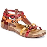 Scarpe Donna Sandali Kickers ANA Marrone / Rosso / Arancio