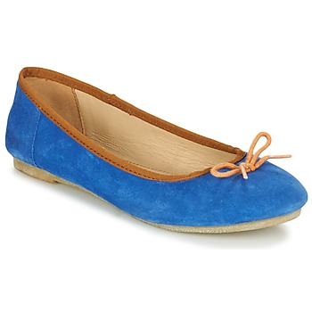 Scarpe Donna Ballerine Kickers BAIE Blu / Arancio