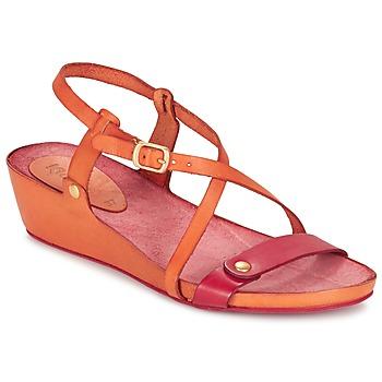 Scarpe Donna Sandali Kickers TASTE Arancio / Rosso
