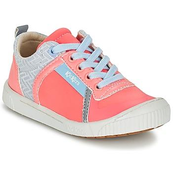 Scarpe Bambina Sneakers basse Kickers ZIGUY CORAIL / Blu
