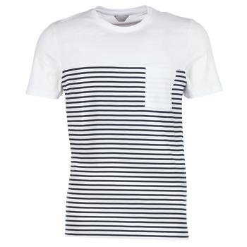 Abbigliamento Uomo T-shirt maniche corte Jack & Jones APRIL CORE Bianco / MARINE