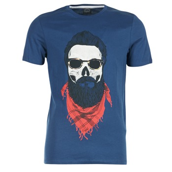 Abbigliamento Uomo T-shirt maniche corte Jack & Jones TRICK ORIGINALS MARINE