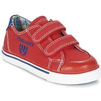 Scarpe Bambino Sneakers basse Pablosky LIVABI Rosso