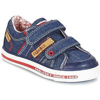 Scarpe Bambino Sneakers basse Pablosky ERIVO Blu