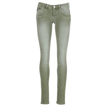 Abbigliamento Donna Pantaloni 5 tasche Freeman T.Porter ALEXA SLIM NEW MAGIC COLOR KAKI