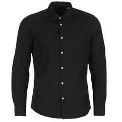 Abbigliamento Uomo Camicie maniche lunghe Esprit FOVETTIO Nero