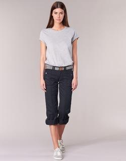 Abbigliamento Donna Pantaloni 5 tasche Esprit TURN UP Nero