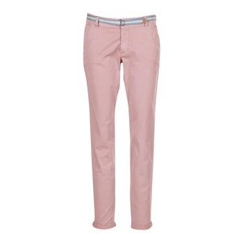 Abbigliamento Donna Pantaloni 5 tasche Esprit HOUISSA Rosa