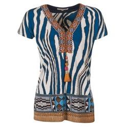 Abbigliamento Donna T-shirt maniche corte Derhy JAQUERIE Blu