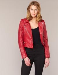 Abbigliamento Donna Giacca in cuoio / simil cuoio Oakwood 62326 Rosso