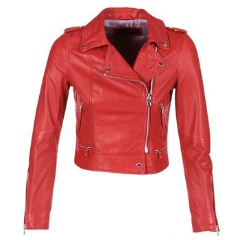 Abbigliamento Donna Giacca in cuoio / simil cuoio Oakwood YOKO Rosso