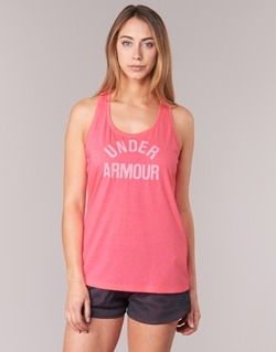 Abbigliamento Donna Top / T-shirt senza maniche Under Armour THREADBORNET TWIST GRAPHIC Rosa