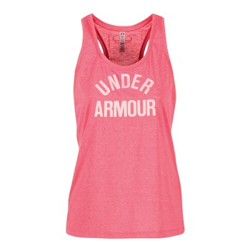 Abbigliamento Donna Top / T-shirt senza maniche Under Armour THREADBORNET TWIST GRAPHIC Rosa