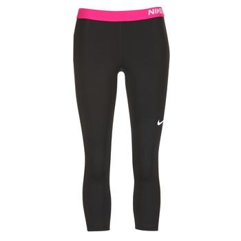 Abbigliamento Donna Leggings Nike NP CL CAPRI Nero / Rosa
