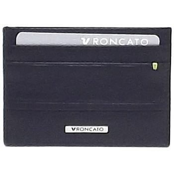Borse Uomo Portafogli Roncato portafoglio uomo, 411054, portacarte di credito in pelle, nero 0