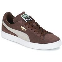 Sneakers basse Puma SUEDE.BROWN/SESAME