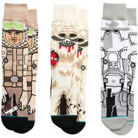 Accessori Uomo Calzini Stance Star Wars Empire Strikes Back Nero
