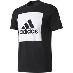 Abbigliamento Uomo T-shirt maniche corte Adidas Athletics T-shirt Essentials Box Logo Nero