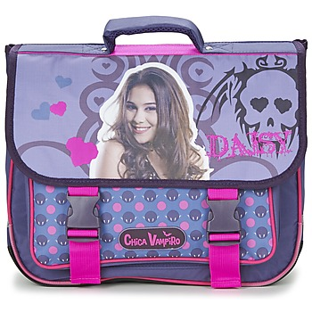 Borse Bambina Cartelle Dessins Animés CHICA VAMPIRO CARTABLE 38CM Viola