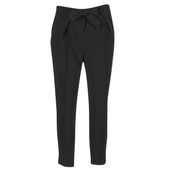 Abbigliamento Donna Pantaloni morbidi / Pantaloni alla zuava Morgan LIKI Nero