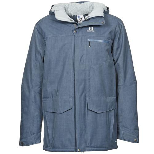 Abbigliamento Uomo Parka Salomon SKYLINE Blu
