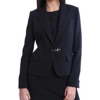 Abbigliamento Donna Giacche / Blazer Fay GIACCA REVER LANCIA BLU Blue