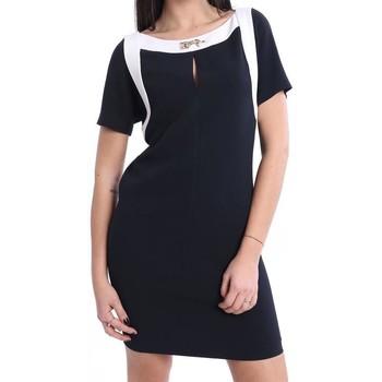 Abbigliamento Donna Abiti corti Fay ABITO  A MANICHE CORTE BLU Blue