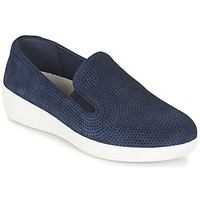 Scarpe Donna Slip on FitFlop SUPERSKATE (PERF) Marine