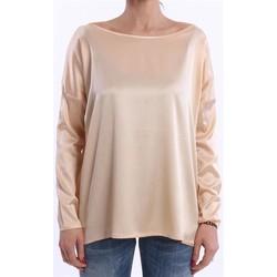 Abbigliamento Donna T-shirts a maniche lunghe Solo Tre T-SHIRT NIOI ROSA PESCA IN SETA MODELLO OVER Altri