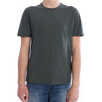 Abbigliamento Uomo T-shirt maniche corte Altea T-SHIRT  IN COTONE VERDE MILITARE Green