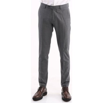 Abbigliamento Uomo Pantaloni da completo Berwich PANTALONE  IN LANA GRIGIO MEDIO Grey