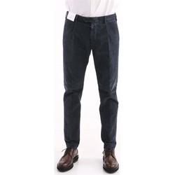 Abbigliamento Uomo Chino Berwich PANTALONE  GRIGIO IN VELLUTO A COSTINE Grey