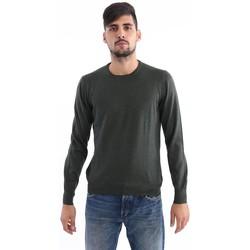 Abbigliamento Uomo Maglioni M.marte MAGLIONE  VERDE SCURO IN LANA VERGINE Green
