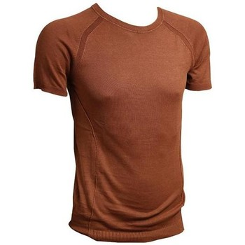 Abbigliamento Uomo T-shirt maniche corte Paolo Pecora T-SHIRT Brown