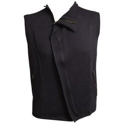 Abbigliamento Donna Gilet / Cardigan Faustdrang GILET  BLU IN COTONE Altri