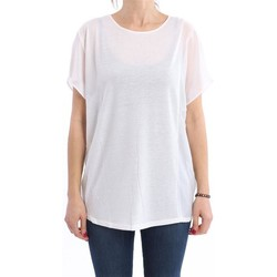 Abbigliamento Donna Top / Blusa Alysi OVER T-SHIRT  BIANCA White