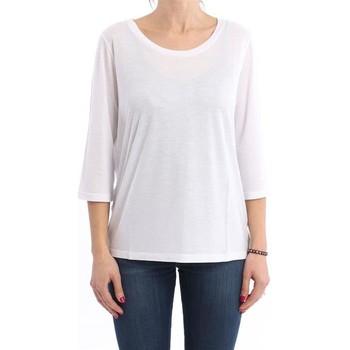 Abbigliamento Donna Top / Blusa Seventy T-SHIRT  BIANCA IN JERSEY White