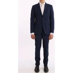 Abbigliamento Uomo Tuta jumpsuit / Salopette Bagnoli Sartoria Napoli ABITO  IN LANA MOHAIR BLU Blue