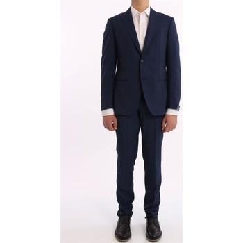 Abbigliamento Uomo Completi Bagnoli Sartoria Napoli ABITO  IN LANA MOHAIR BLU Blue