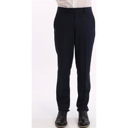 Abbigliamento Uomo Pantaloni da completo Bagnoli Sartoria Napoli PANTALONE  BLU TAGLIO CLASSICO Blue