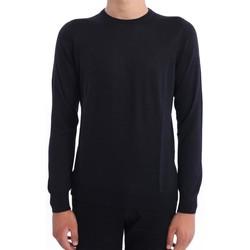 Abbigliamento Uomo Maglioni M.marte MAGLIONE  NERO IN LANA E SETA Black