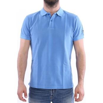 Abbigliamento Uomo Polo maniche corte Invicta POLO  CELESTE Blue