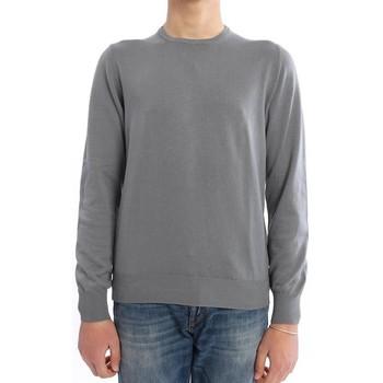 Abbigliamento Uomo Maglioni M.marte MAGLIA GIROCOLLO IN COTONE GRIGIO Grey