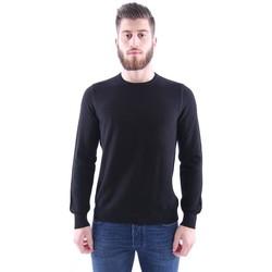 Abbigliamento Uomo Maglioni M.marte MAGLIA GIROCOLLO IN LANA NERO Black