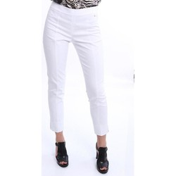 Abbigliamento Donna Chino Tory Burch PANTALONI BIANCHI White